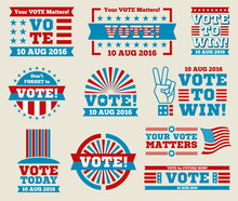 Encourage Voting USA 2016 Vect...
