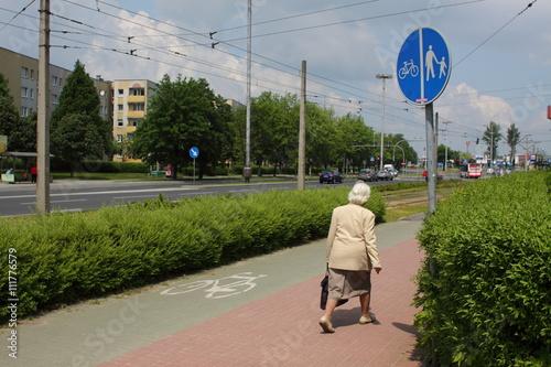 Fototapeta droga rowerowa, ścieżka obraz