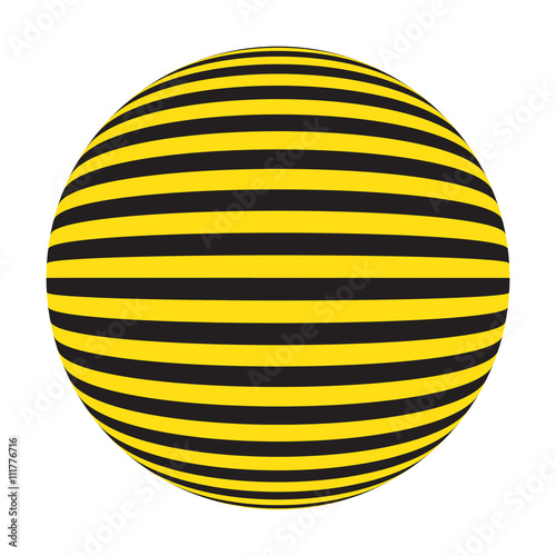 yellow and black extra point, ball  stop  repair, Industrial striped