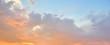 Leinwandbild Motiv Beautiful sky after the sunset