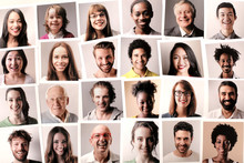 Passport Photos Of Different People