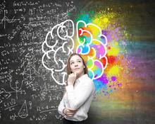 Different Brain Hemispheres