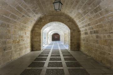 Fototapeta Old corridor