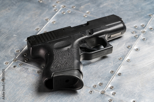 Fototapeta  Black glock 9mm