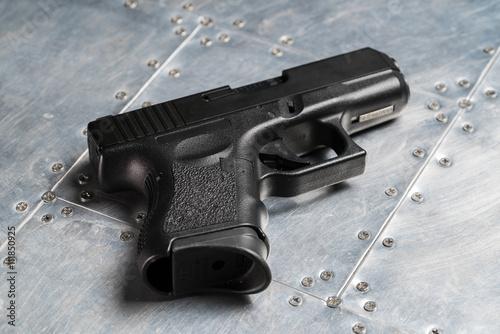 Valokuva  Black glock 9mm