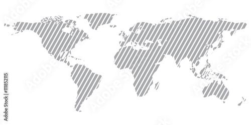 Gray Similar World Map World Map Blank World Map Vector World Map