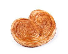 Sweet Puff Pastry Isolated On ...
