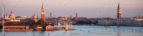 Foto op Plexiglas Venetie Early morning Venice panorama