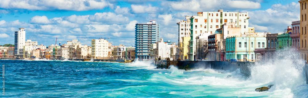 Fotografija  Panoramic view of the Havana skyline