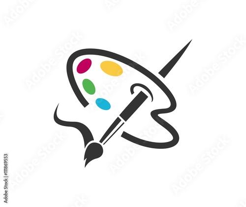 Fotografía Paint logo