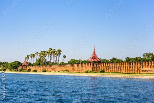 Mandalay Palace Moat Poster