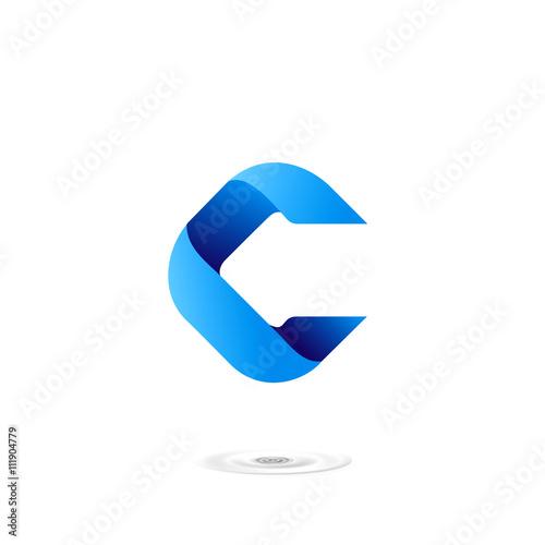letter c logo icon