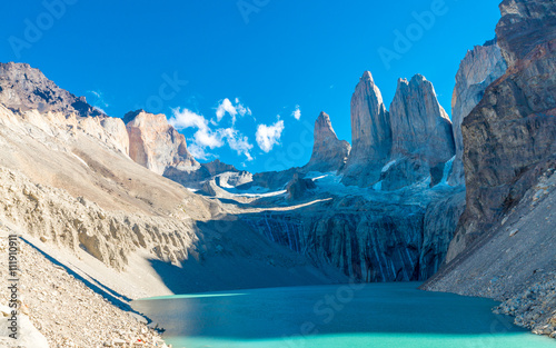 Fotografie, Obraz  Torres del Paine National Park, Patagonia, Chile