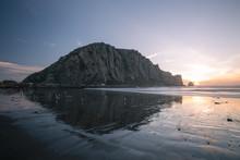Sonnenuntergang Morro Bay