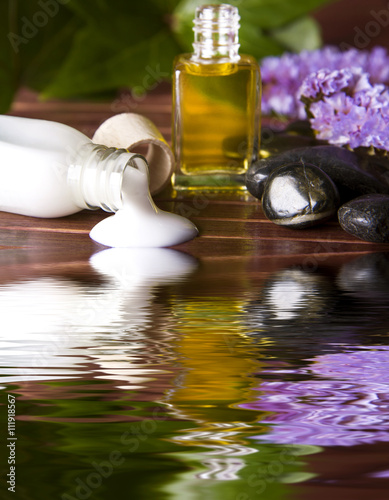 Fotografia  body cream in the spa