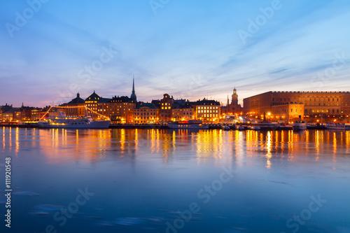 Photo  skyline of Stockholm, Sweden