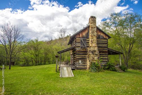 Photographie  Historic Pioneer Cabin In Kentucky