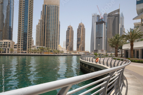 Photo  sight of district Marina in Dubai