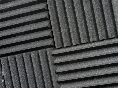 Valokuva  Recording studio acoustic tiles