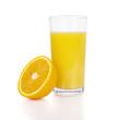 Leinwanddruck Bild Orange Juice