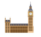 Fototapeta Big Ben - Vector illustration of the Big Ben