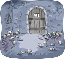 Dungeon Skulls Interior