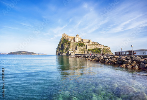 Fotomural  Aragonese Castle on Ischia