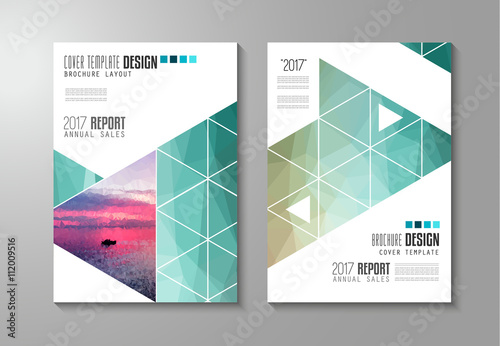 Brochure Template Flyer Design Or Depliant Cover For Business