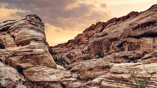 Fotografie, Obraz  Scenic Red Rock Canyon in Nevada