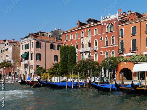 Stickers pour porte Venise Venedig