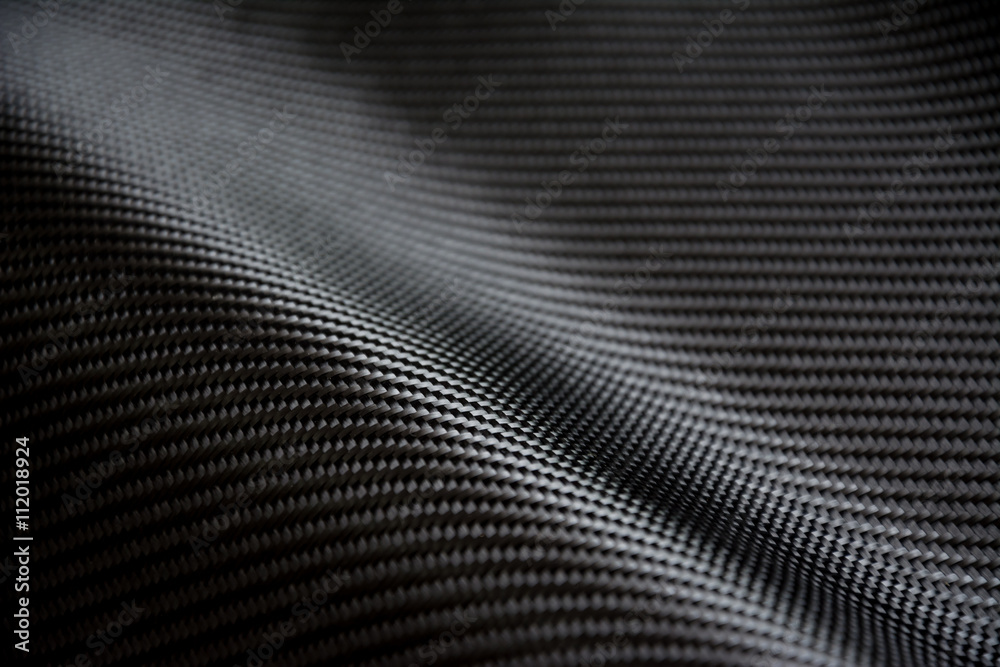 Fototapety, obrazy: Carbon fiber composite raw material background