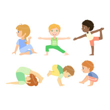 Kids Doing Advanced Yoga Poses