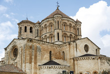Romanesque Cathedral In The To...