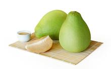 Fresh Juicy Pomelo Fruit Isola...