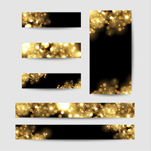 Abstract Background With Gold ...