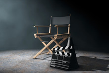 Director Chair, Movie Clapper ...