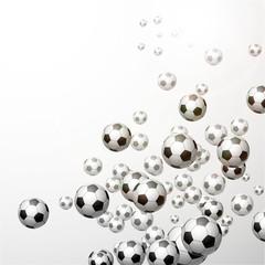Panel Szklany Podświetlane Piłka nożna piłka nożna tło wektor