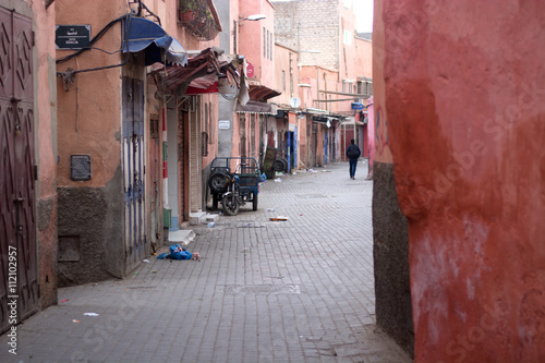 The early morning streets in the Eastern markets