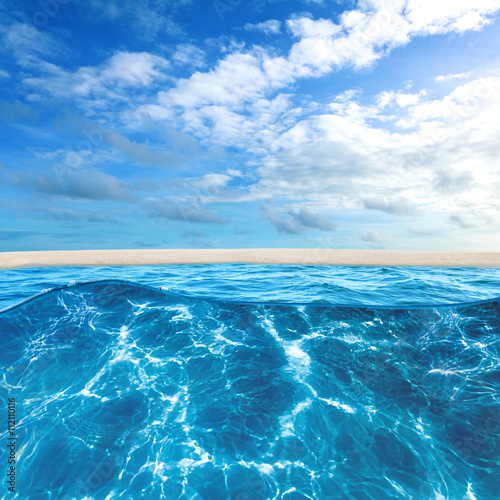 Foto op Canvas Tropical strand Tropical island beach