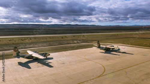 Fotografie, Obraz A couple Hercules aircrafts II