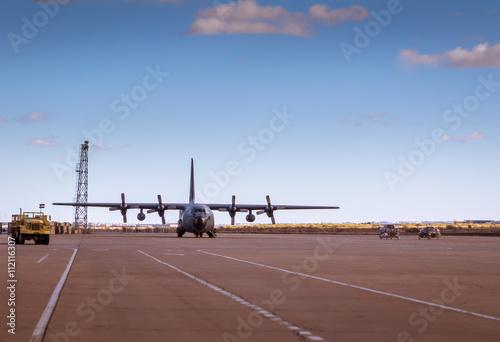 Fototapeta  Hercules aircraft VII