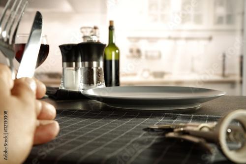 Deurstickers Ontspanning kitchen