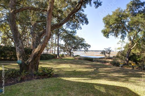 Fotografia, Obraz  Beautiful waterfront property