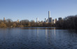 central park view during a sunny day