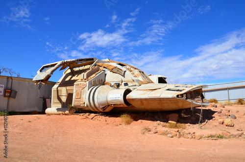 Türaufkleber UFO Coober Pedy, désert australien