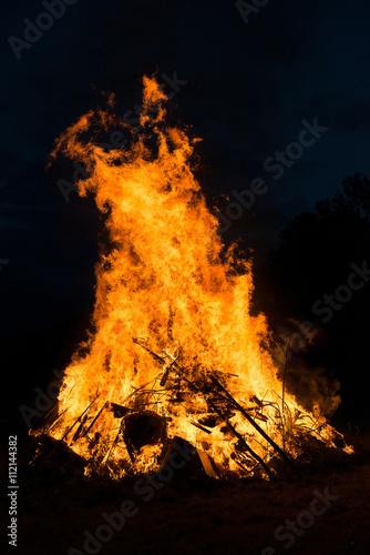 duże ogniska