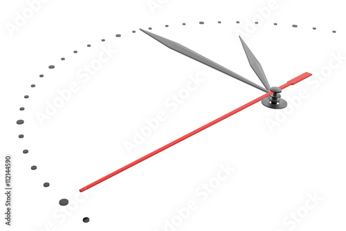 Photo  White wall clock