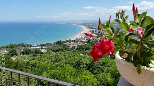 Photo viewpoint of Vasto on abruzzo