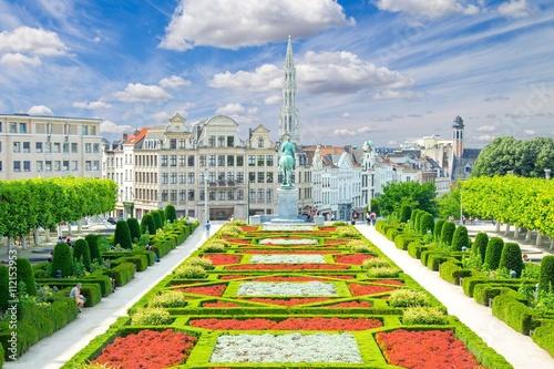 Spoed Foto op Canvas Zuid-Amerika land Bruxelles, Brussels, Belgium, Belgique