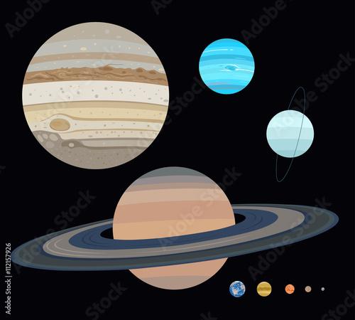 Planets set: jupiter, saturn, ...